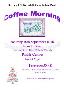 coffee morning 10.9.16